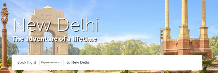new delhi fares 199
