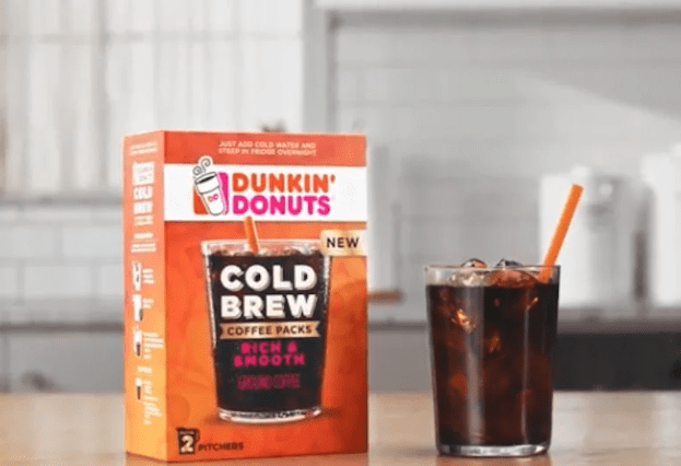 Free Dunkin' DonutsCold Brew Coffee Sample Pack