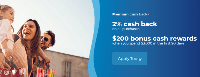 SDFCU Premium Cash Back+