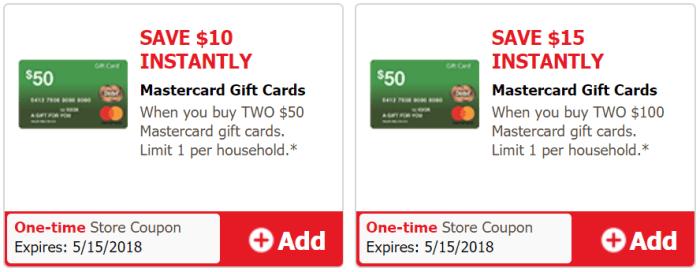Safeway Mastercard Gift Card Deal