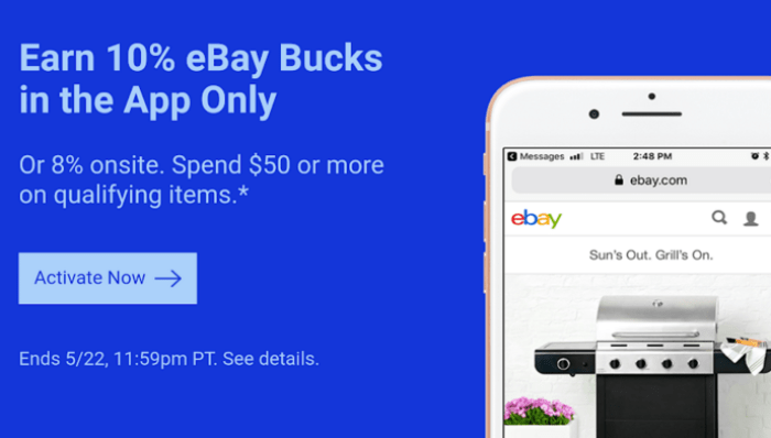 ebay bucks offer