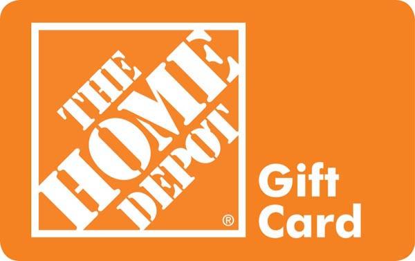 Egifter: Buy 0 Home Depot Gift Card, Get  Visa Card
