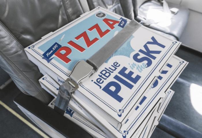 jetblue pizza