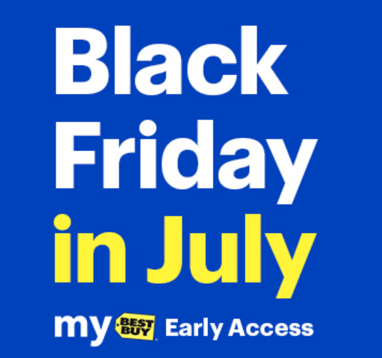 Black Friday in July deals