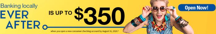 Bank & Trust $350