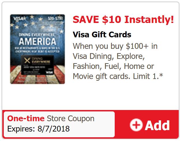 just4u visa gift card deal