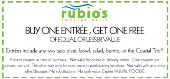 rubio's coupon