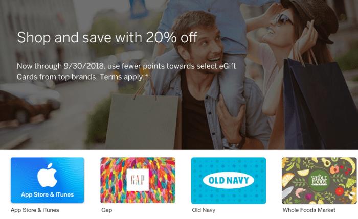 membership rewards discounted gift cards