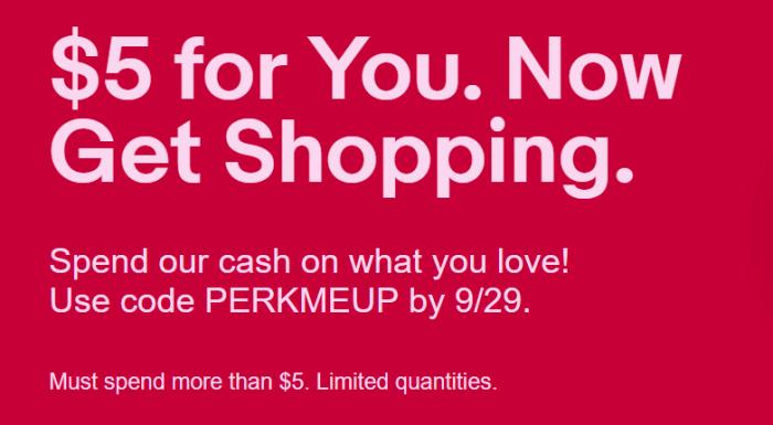 ebay free $5