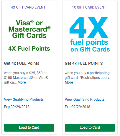 kroger gift card deals