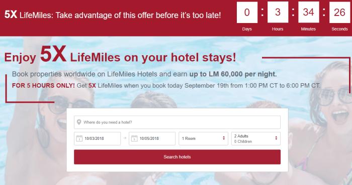 Earn 5X Avianca Miles on Hotel Stays