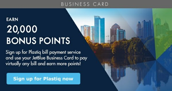 jetblue business card plastiq offer - Jetblue Business Card