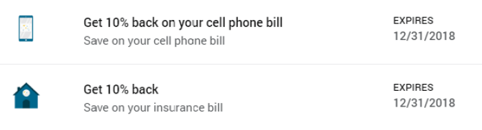 Insurance Cell Phone Bill Amex Offers