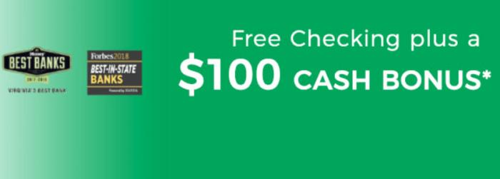 Union Bank Trust $100 Bonus