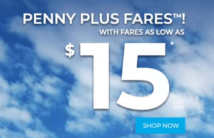 Frontier $15 Fares