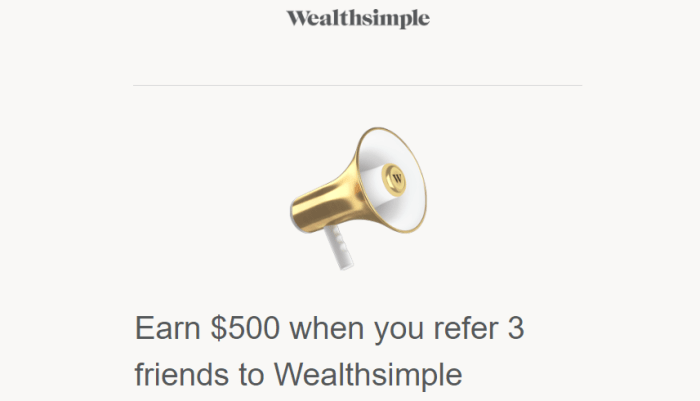 wealthsimple 500 bonus