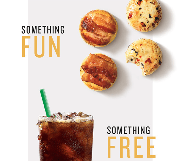 Starbucks Buy One Item Get Free Drink