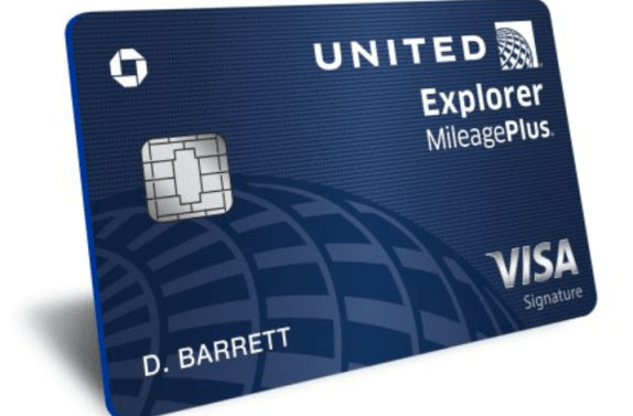 Chase United Explorer Card 60k offer