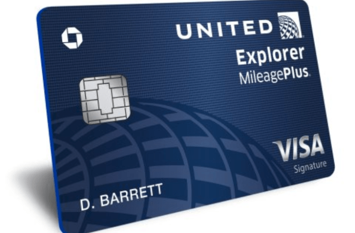 United MileagePlus Explorer 70k bonus