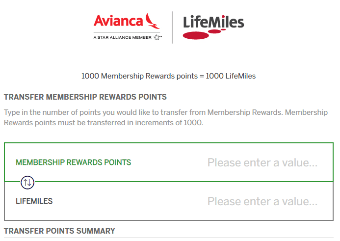 Amex Membership Rewards Adds Avianca Lifemiles