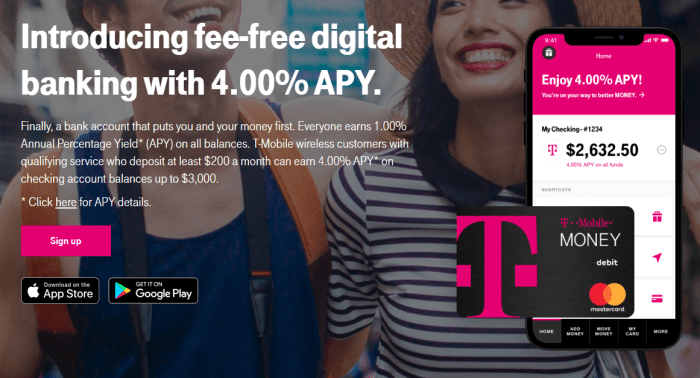 T-Mobile Money account