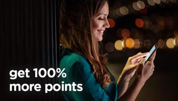 Radisson Rewards 100 bonus