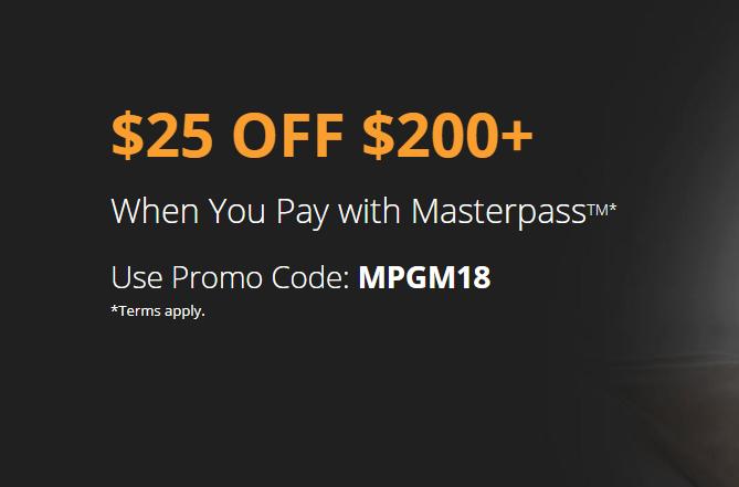 newegg masterpass discount