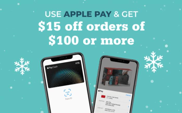 rakuten apple pay 15 off
