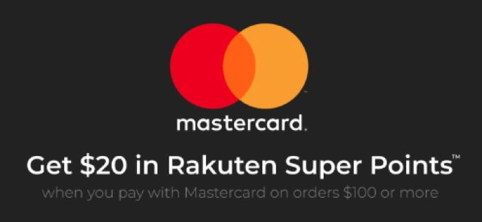 rakuten mastercard promo
