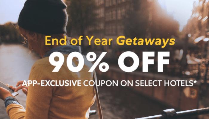 expedia 90% discount