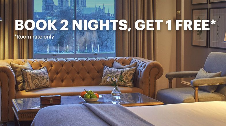 IHG Promo: Book 2 Nights in UK, Get Free Night Anywhere