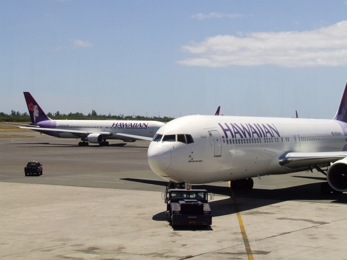 Hawaiian Airlines chart