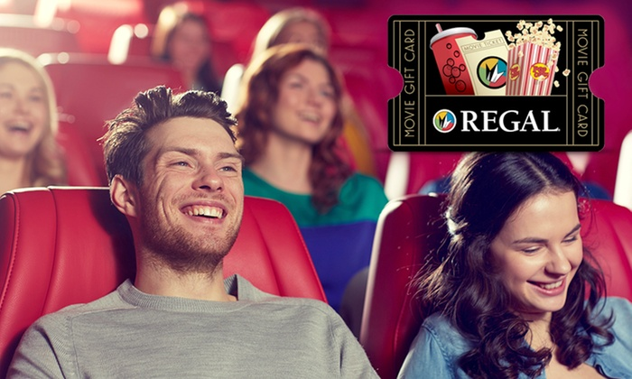 Groupon, $10 for $20 Regal Cinemas eGift Card