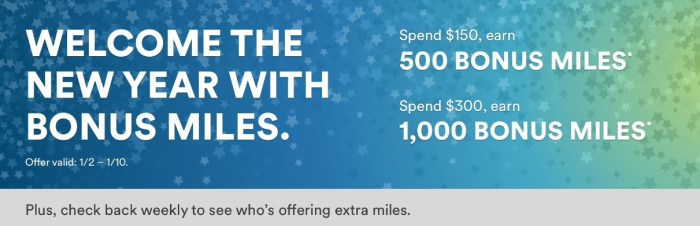 Alaska Airlines Mileage Plan Shopping Bonus