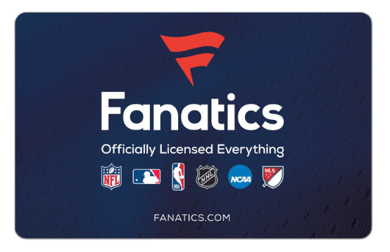 discounted Fanatics Gift Cards