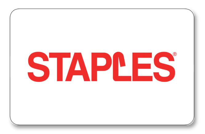 discounted staples gift cards