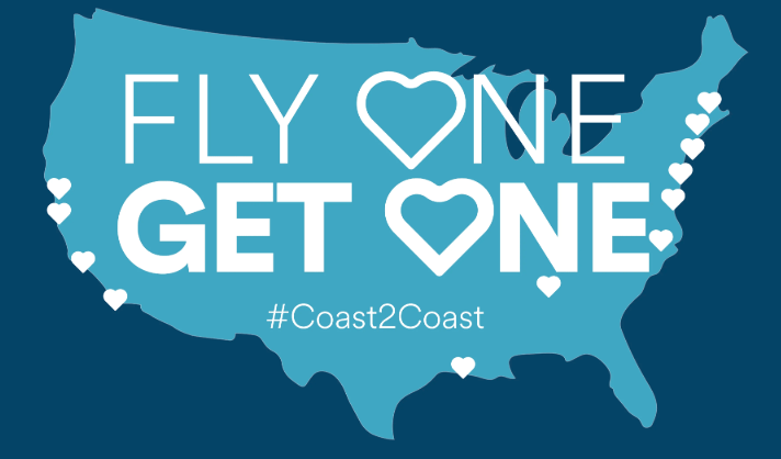 Alaska Airlines 2-For-1 Valentine's Day Sale