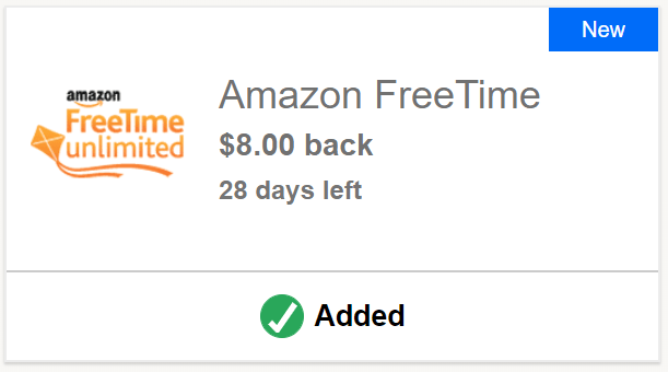 Amazon FreeTime Chase Offer