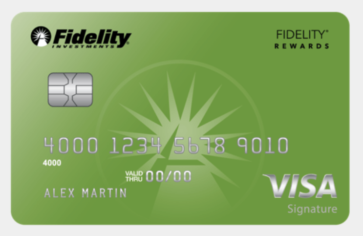 Fidelity Rewards Visa Signature Card, Targeted $300 Bonus