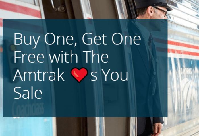 Amtrak's Valentine Day Sale