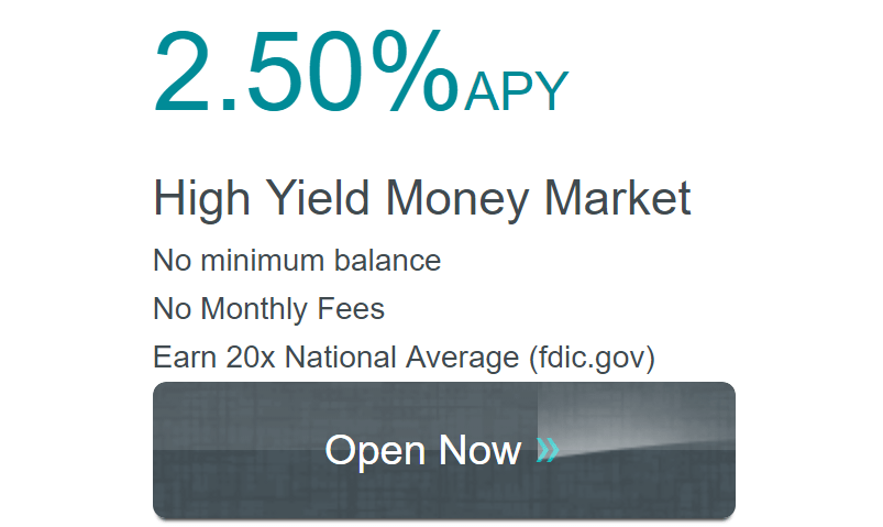 Western State Bank, 2.50% APY for Money Market Account (No Limit/Min)