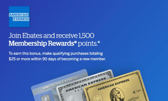 ebates membership rewards referral