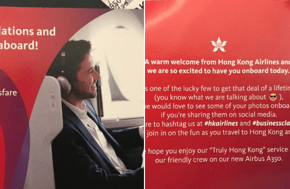 Hong Kong Airlines Honoring Mistake Fares, But is Also Asking a Favor