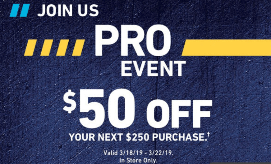 [Expired] Lowe's, $50 Off $250 In-Store Purchase (Ends 3/22)