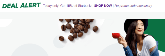discounted starbucks gift cards