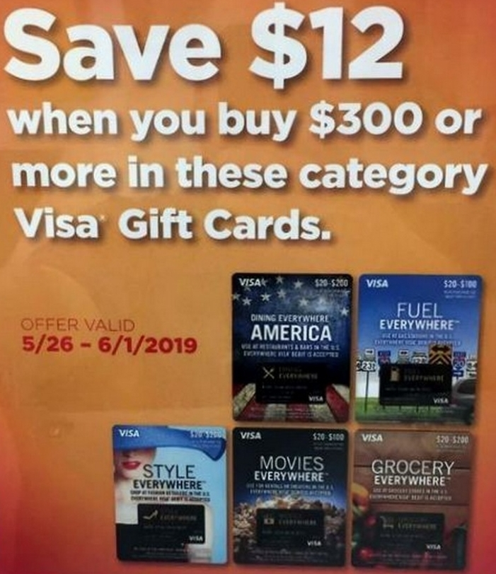 Office Depot, $12 Instant Rebate with Purchase of $300+ of Select Visa Cards