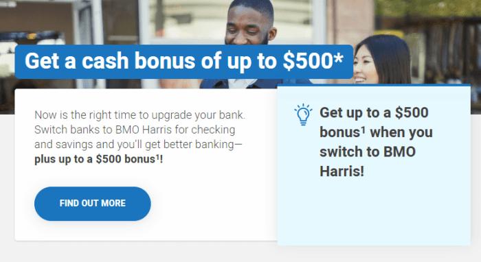 BMO Harris Bonus
