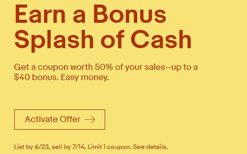 eBay Seller Bonus