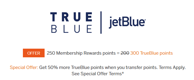 amex points jetblue bonus
