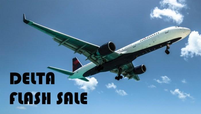 Delta Flash Sale